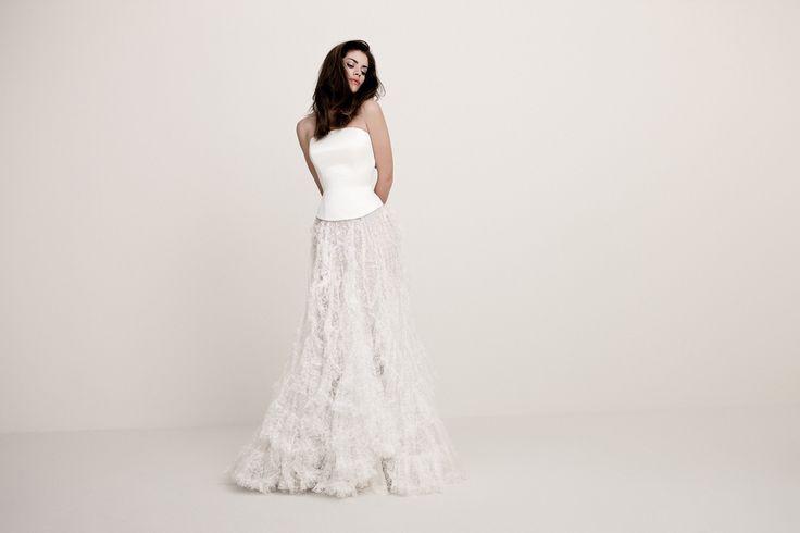 Daalarna.com - Wedding dresses - White - 517--skirt!