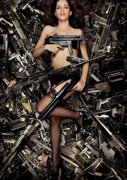 Boobs n guns by radchoco on deviantart