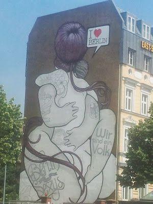 One Berlin Love • #tstPics • #tstBerlin #Berlin #Streetart