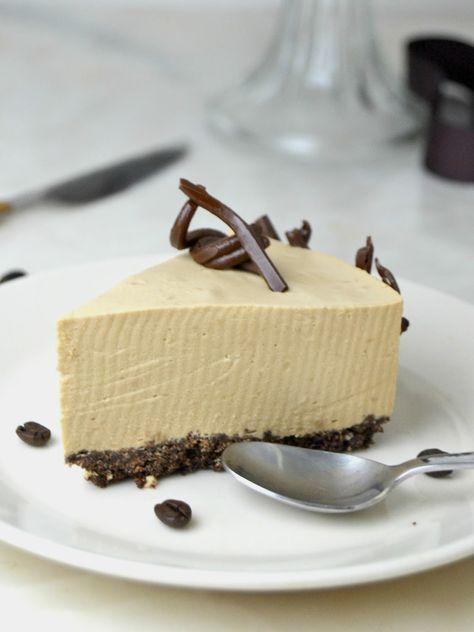 receta paso a paso de la tarta de mousse de café