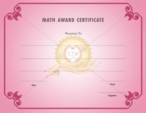 55 best Award Certificate Template images on Pinterest - certificate of service template