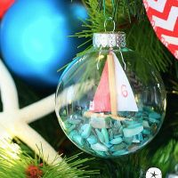 DIY Sailboat Ornaments