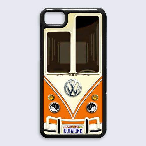 vw volkswagen orange with chrome logo for Blackberry Z10 case $16.89 #etsy #Accessories #Case #cover #CellPhone #BlackBerryZ10 #BlackBerryZ10case #BlackBerry #VW #volksawagen #minibus #VAN #capsule #car #retro #vintage #classic