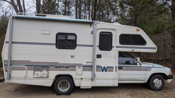 1989 Winnebago Warrior In Zimmerman Mn In 2020 Toyota Camper Winnebago Campers For Sale
