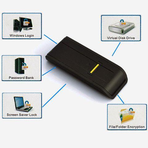 Spy Gadget - Fingerprint - PC Lock