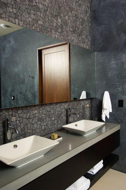 contemporary bathroom by Rozewski & Co., Designers, LLC