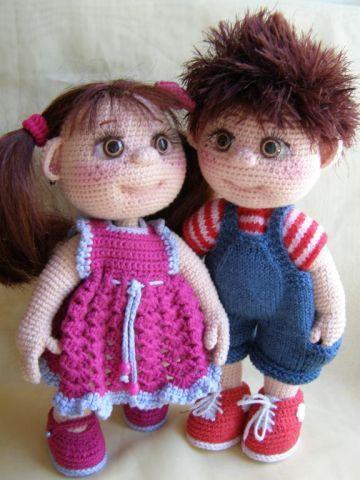 Amigurumi Hair Boy : 17 Best images about Crochet dolls on Pinterest Free ...