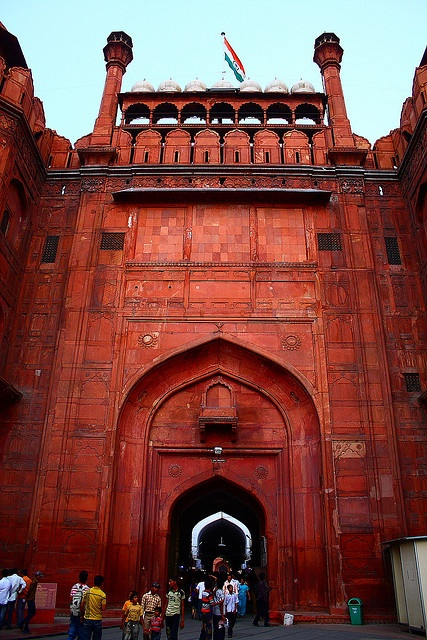 December 2005 - The Red Fort, or Lal Qila, is a 17th century fort complex constructed by the Mughal emperor Shah Jahan.