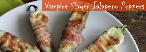 Garlic and spice and everything nice. Try our Vampire Slayer Jalapeno Popper recipe.