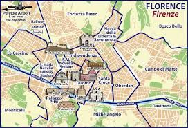 Image result for map of florence italy