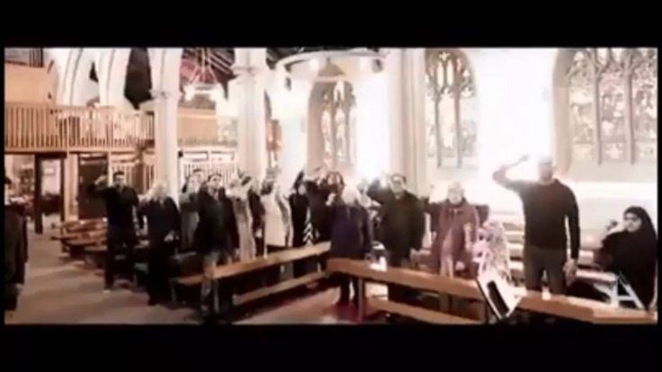 كنيسة مسيحية تقيم لطمية على الامام الحسين علية السلام || الحسين للجميع