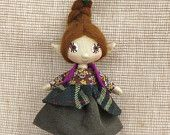 Hobbit Marila Beauty Eye - handmade art doll, home decor by TrilliBoltja on Etsy, $55.00 USD