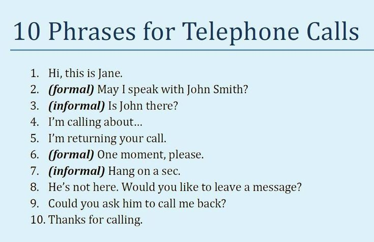 Learning how to make telephone calls in English and tips on preparing for making a telephone call.