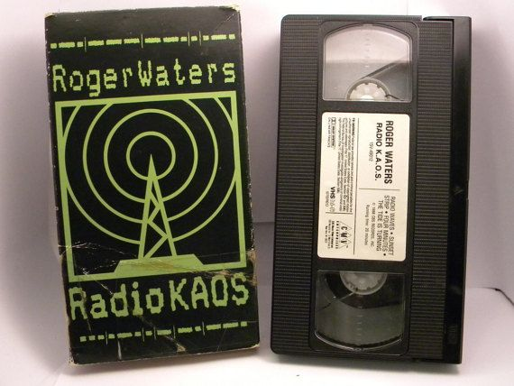 Roger Waters Pink Floyd Radio KAOS VHS tape 1988 by OlyTrader