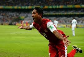 Tahiti goalscorer can't hold joy at scoring against Nigeria