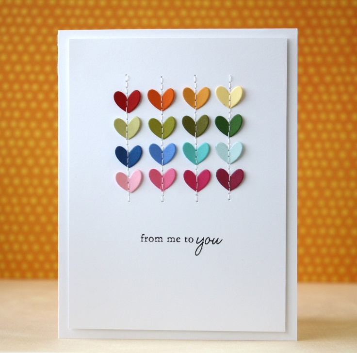 Simple yet stunning card by Laura Bassen, muse for CASE Study March 2012.