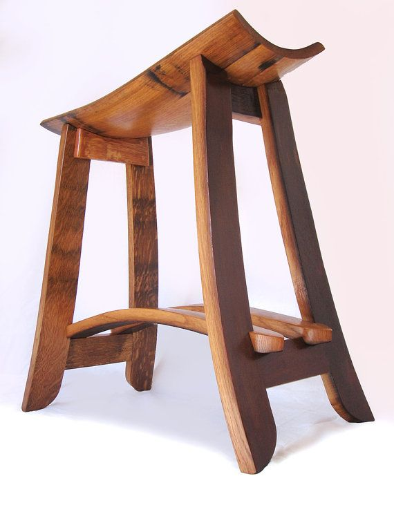 reversible reclaimed wine barrel. Kyoto, Recycled Oak Wine Barrel Staves Barstool, Made From Used French Barrels Reversible Reclaimed N