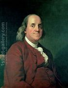 Benjamin Franklin, 1782  by Josepf Wright Of Derby