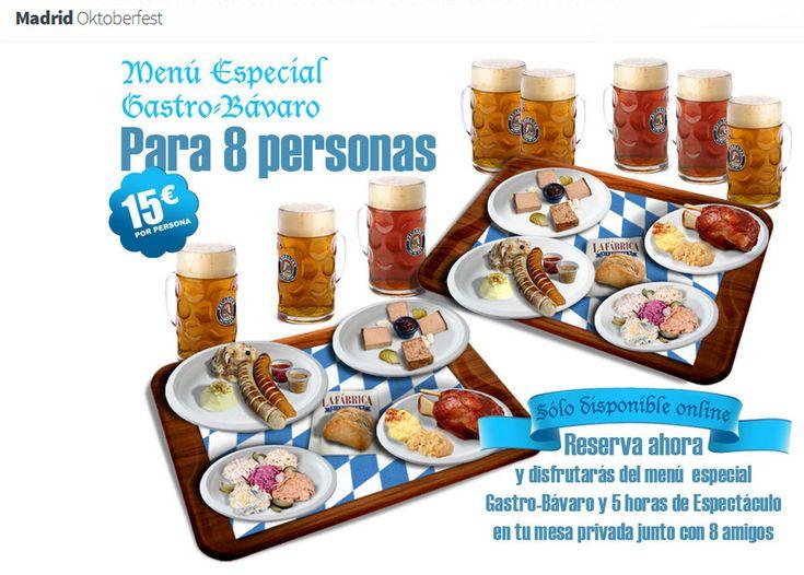 Madrid Oktoberfest 2014 http://www.gastronomiaycia.com/2014/07/18/madrid-oktoberfest-2014/