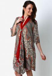 Danar Hadi  Mini Dress Batik Lenko