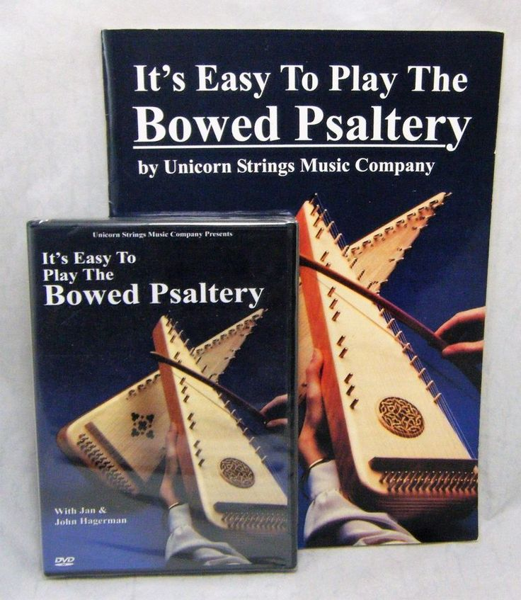 It's Easy to Play the Bowed Psaltery. DVD and book. DVD is sealed, book is in good condition with minor shelf wear. | eBay!