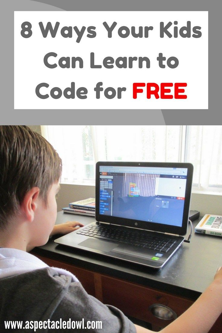 8 Ways Your Kids Can Learn to Code for FREE