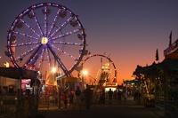 GoldStar Amusements Carnival at the Clay County Fair