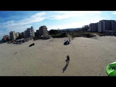 Kitesurf session filmed with GoPro on Phantom 2 - VIDEO - http://worldofkitesurfing.com/kitesurf/videos-kitesurf/kitesurf-session-filmed-with-gopro-on-phantom-2-video/