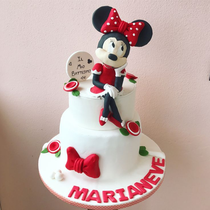 Minnie Cake  #Disney #cake #minnie #cakedesign