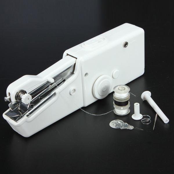 Loskii BX-215 Portable Mini Electric Handheld Sewing Machine Travel Household Cordless Stitch