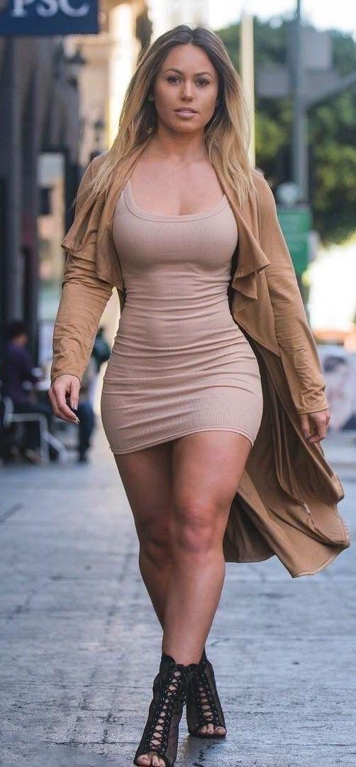 Good Looking Curvy Girl Fashion  Full Figure Beauty -1184