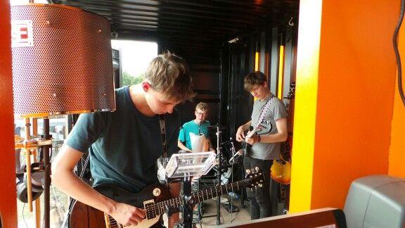 Band i 3FriendTones studiet #3rf13 #rf13 #Samsunggalaxycam