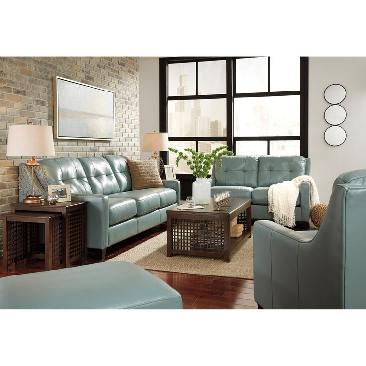 O'Kean Stationary Living Room Group by Signature Design by Ashley