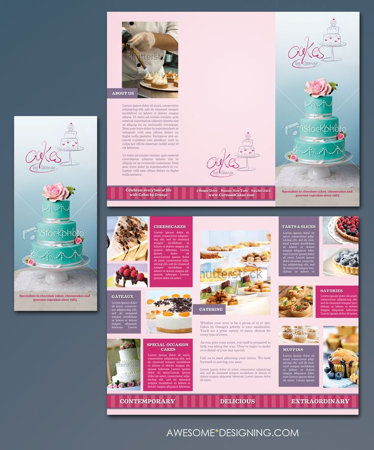Brochure by awesomedesigning