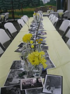 Perfect, except not black and white and I would love to be able to have people sign the table.