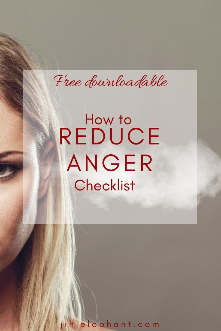 Get the How to Reduce Anger Checklist to help lessen bubbling anger! Get a ton more FREE downloadable resources when you sign up for the anger reduction checklist!