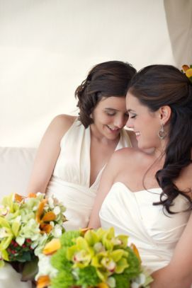 Real Gay Weddings: Kelsey and Leigh | Equally Wed - A gay and lesbian wedding magazine.