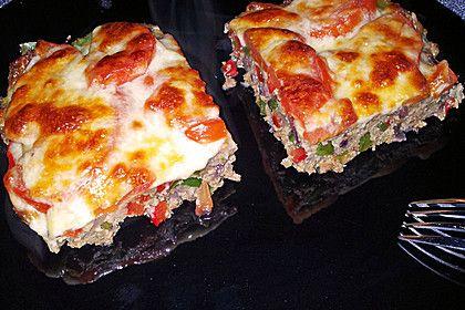 Hackfleisch-Pizza (Rezept mit Bild) von Cpt_Picard   Chefkoch.de