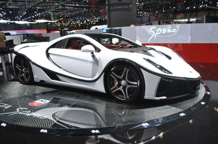 Spania GTA Spano : l'espagnole qui décoiffe : Salon de Genève 2015 : les voitures de luxe et de sport à l'honneur - Linternaute
