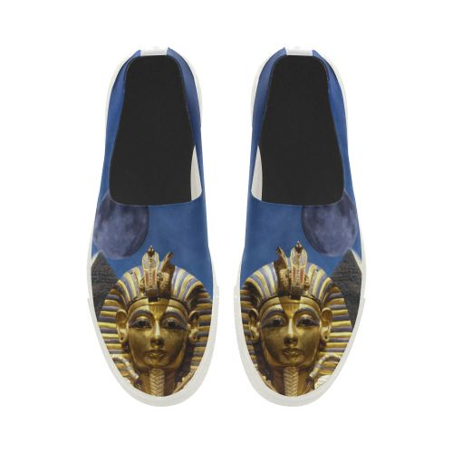 King Tut and Pyramid Apus Slip-on Microfiber Men's Shoes. FREE Shipping. FREE Returns.