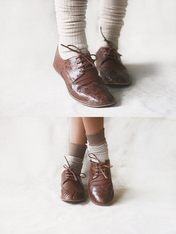 The Club  Women's Leather  Brogues  CUSTOM by TheDrifterLeather, €97.20