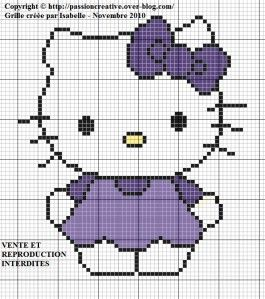 Hello Kitty - Robe violette