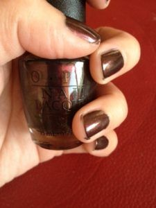 OPI Miur Miur on the wall