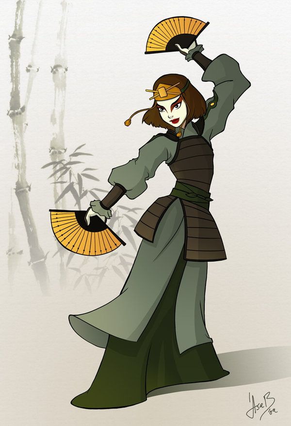 Kyoshi's guardian by asa-bryndis.deviantart.com on @deviantART