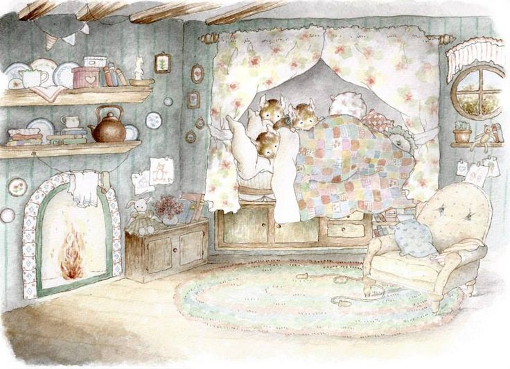'Quieta Radura' Illustrazione di Clelia Canè