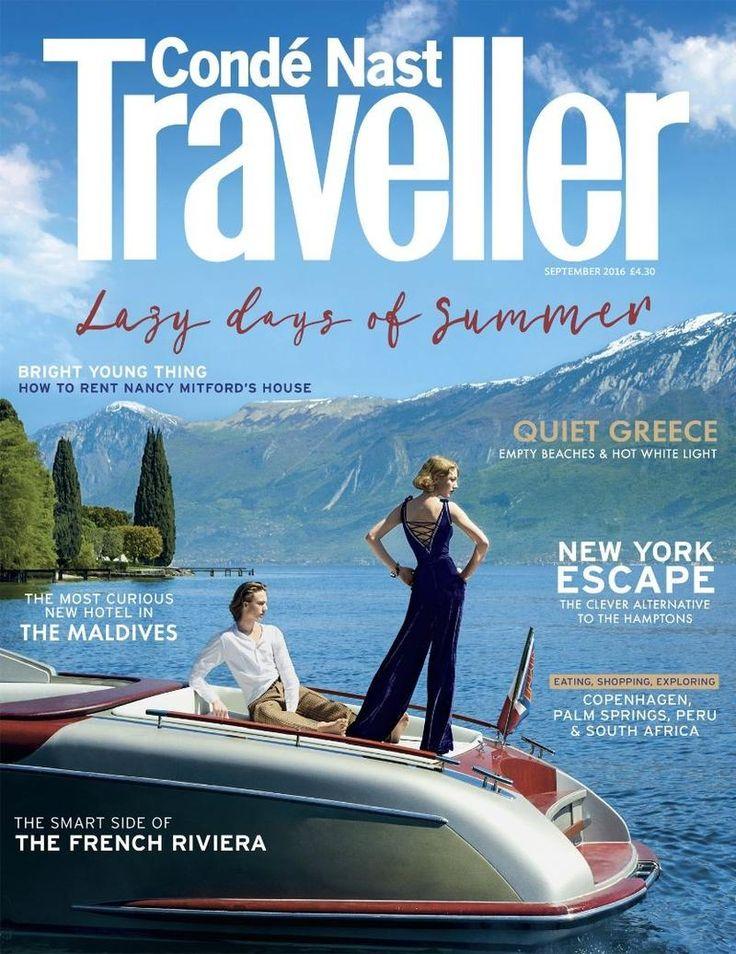 Conde Nast Traveller UK - Conde Nast Traveller UK Cover September 2016 Cover