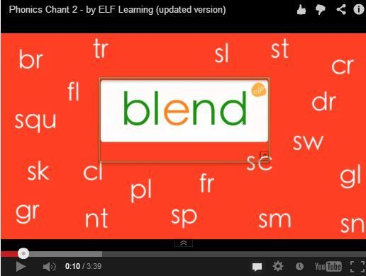 Great video to teach and review consonant blends!