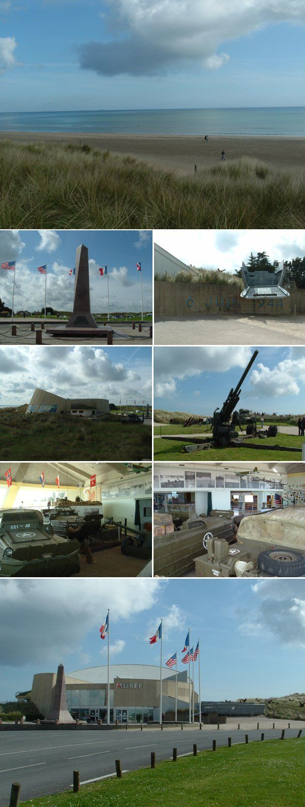 Visit D-Day Beaches in Normandy :: Utah Beach . I cried when i visited and I now cry again for them all .