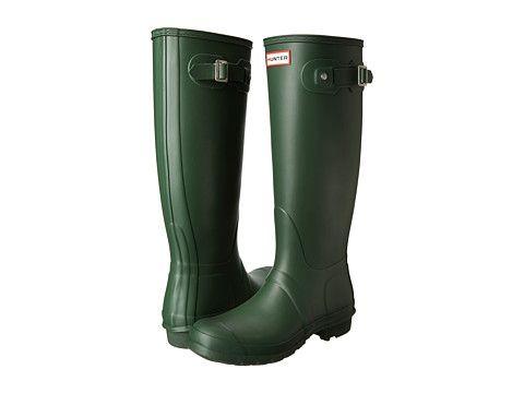 Hunter Boots Original Tall Matte Hunter Green