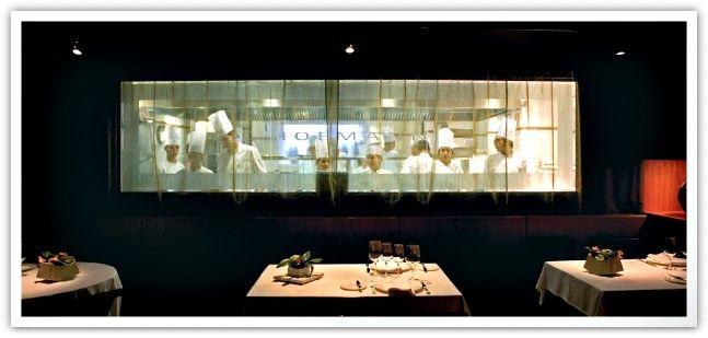 Restaurante Hofmann.  Excelente restaurante-escuela. C/ La Granada del Penedés nº 14-16 08006 Barcelona Tel. 93 218 71 65